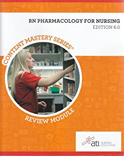 Rn adult medical surgical nursing edition 9 0 ati 9781565335400 rn pharmacology for nursing edition 6 0 fandeluxe Image collections