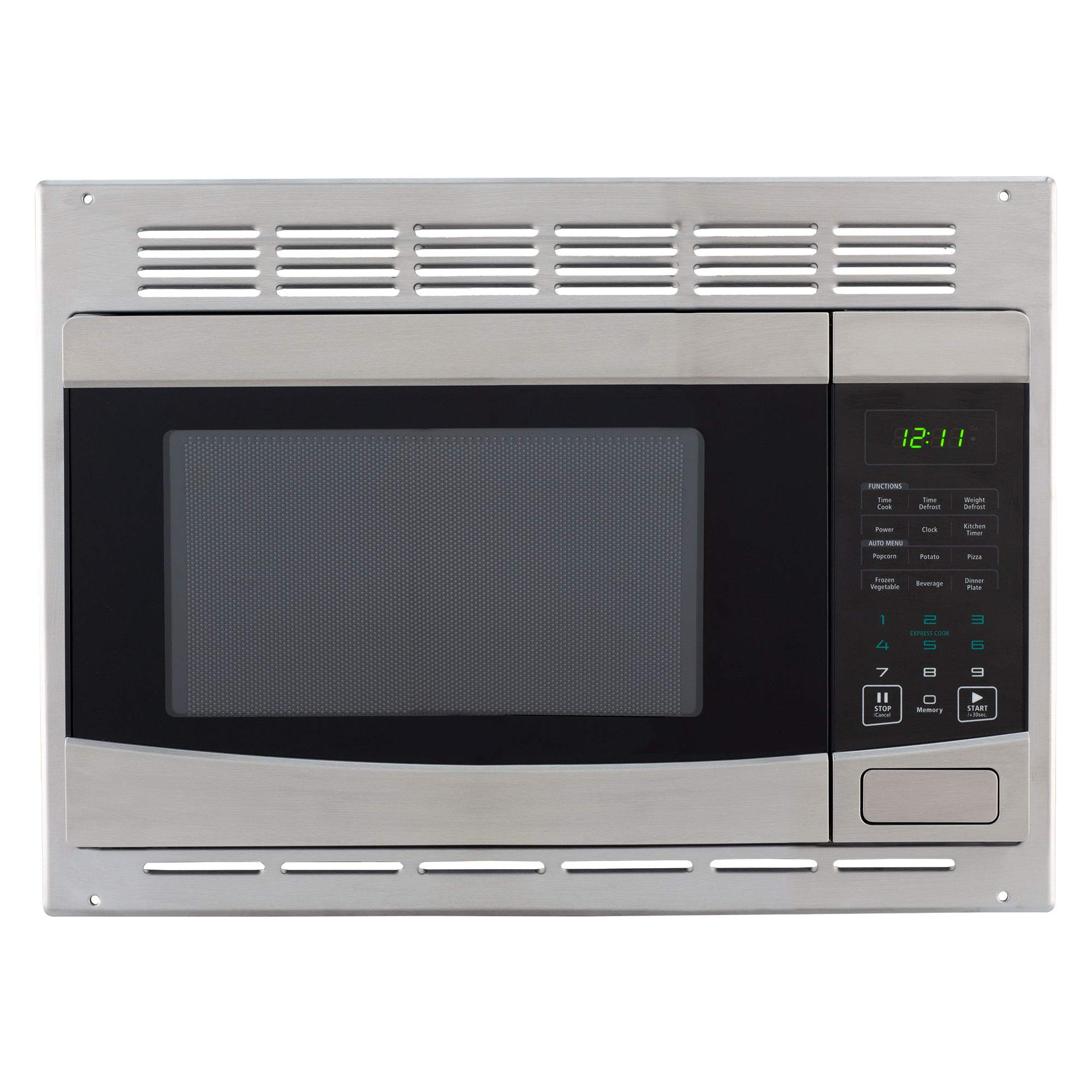 RecPro RV Stainless-Steel Microwave 1.0 cu ft. With Trim Package EM925AQR-S by RecPro (Image #2)
