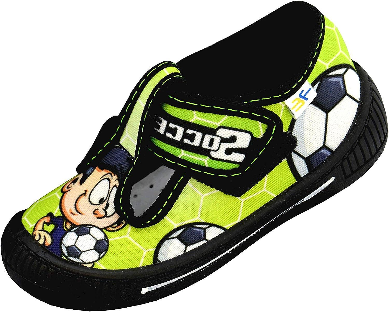 Football 3f freedom for feet -Chaussures pour Gar/çons Enfants 1-4 ans -Premi/ères Chaussures pour Petit Gar/çon -Fermeture /à Toucher T-Rex Souris Semelle Int/érieure en Cuir Naturel -Dino 19-27 EU
