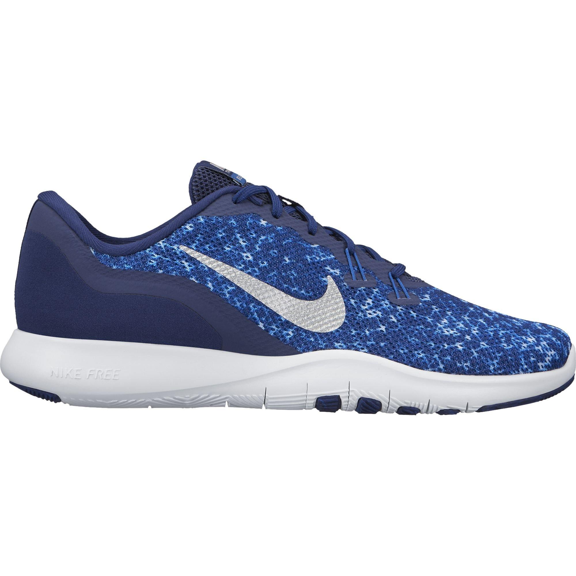 Galleon - NIKE Flex Trainer 7 Womens Training Shoes Binary Blue Metallic  Silver Black 11 d57531d6e97b9