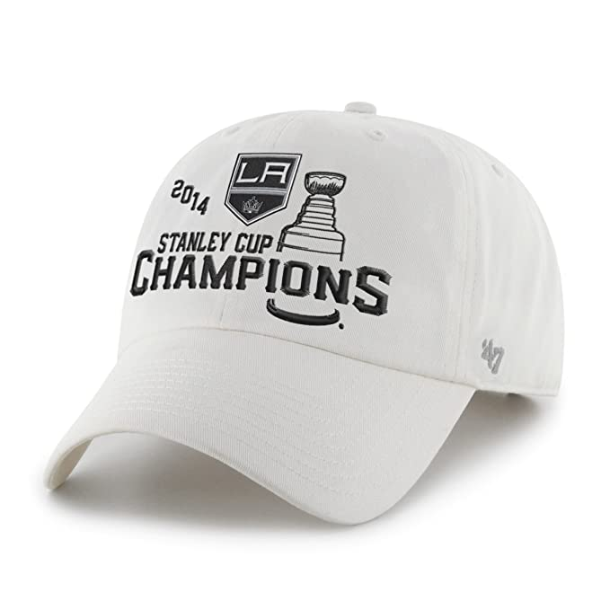 wholesale dealer eff0a 40433 Image Unavailable. Image not available for. Color   47 NHL 2014 Stanley Cup  Champions Los Angeles Kings Adjustable Cap Brand