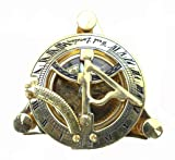 Maritime Collectible Sundial Compass Vintage