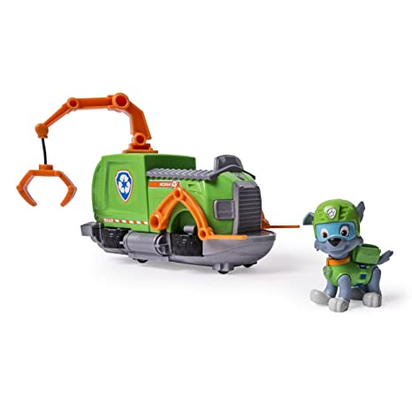 rocky paw patrol  : Paw Patrol - Rocky's Tugboat - Vehicle and Figure: Toys ...