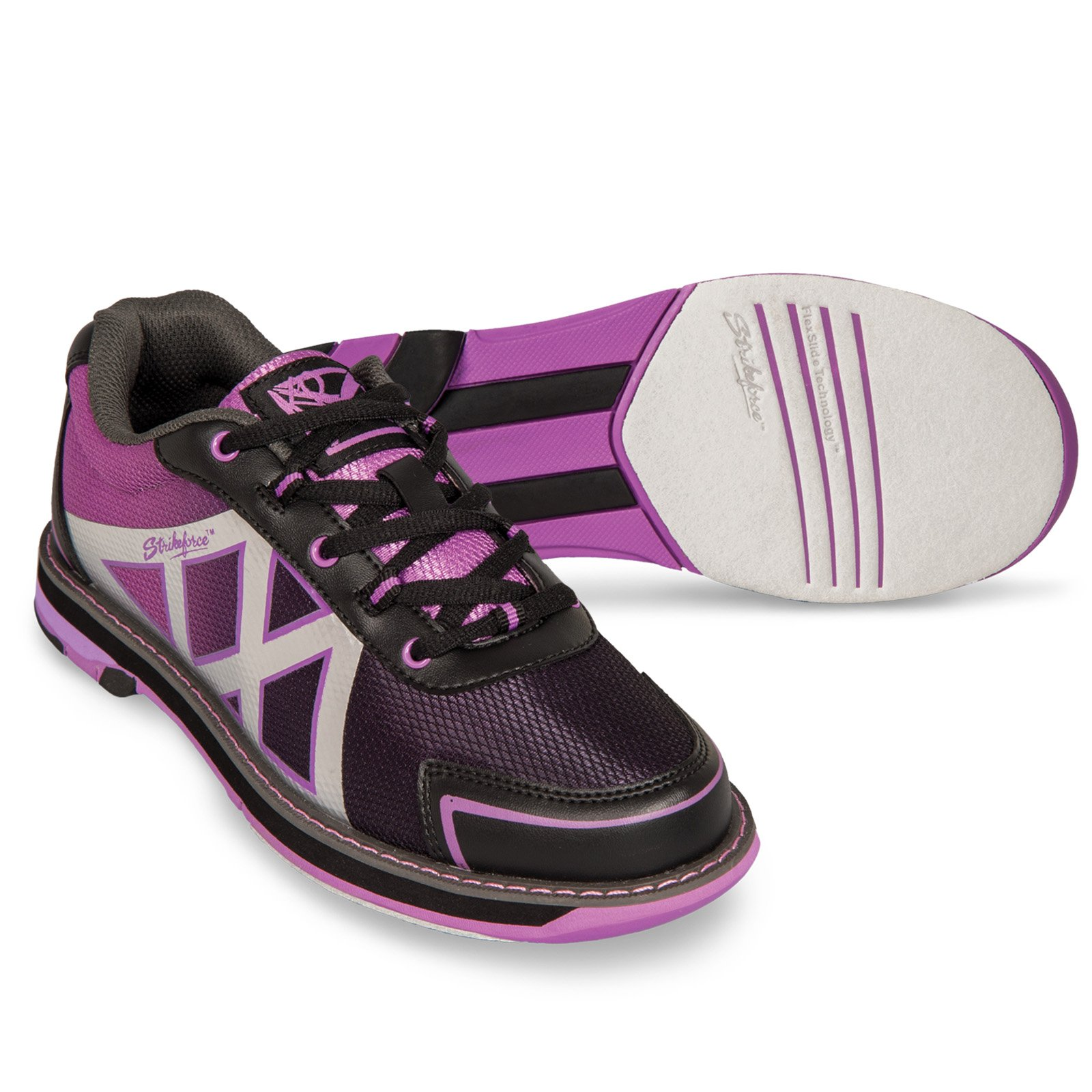 KR Kross Ladies Black Purple Size 9 by KR