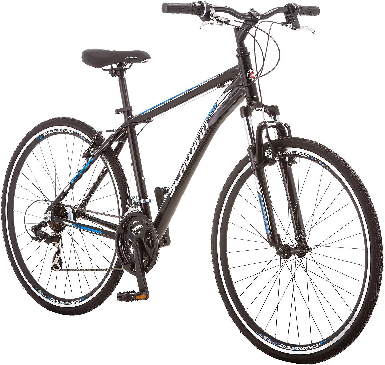 Schwinn GTX comfort bike with front suspension