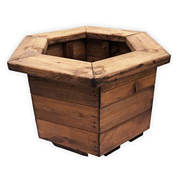 Simply Wood Christmas Tree Wooden Planter Large Sale Amazon