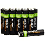 AmazonBasics AAA Pre-Charged Rechargeable Batteries 800 mAh [Pack of 12] (Packaging may vary)