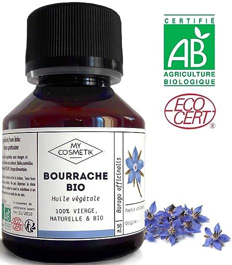 MyCosmetik - Aceite vegetal de borraja orgánico - 125 ml
