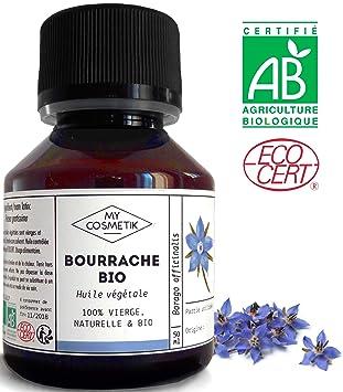 MyCosmetik - Aceite vegetal de borraja orgánico - 125 ml: Amazon.es: Salud y cuidado personal