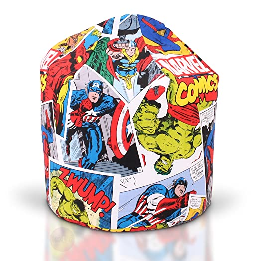 Marvel Justice League Bean Bag Official Licensed Product Features All Characters