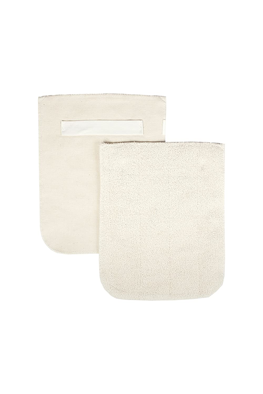 "RITZ Food Service CLPG1-2E Terry Hot Pad Pot Holder with Steam Barrier, 8"" x 11"", Set of 2, Beige"