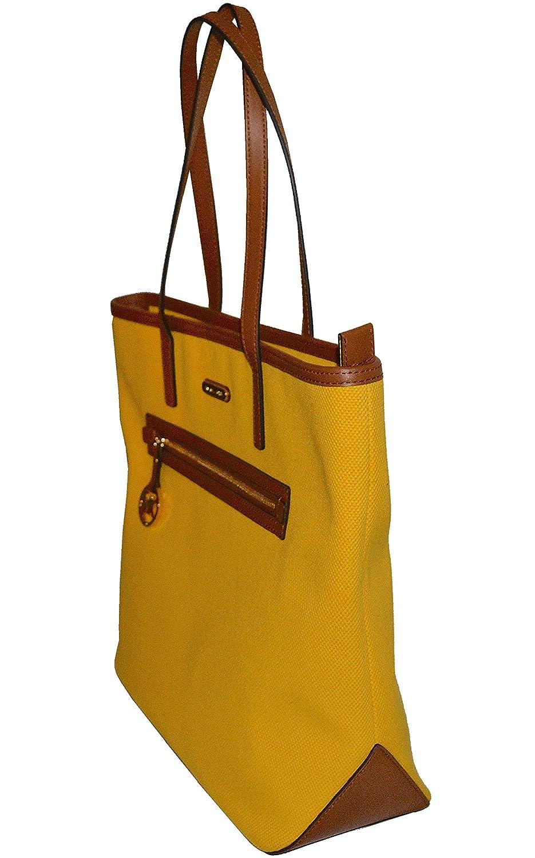 3fa7b31c4f99 Amazon.com: Michael Kors Large Kempton Sunflower Yellow Tote: Shoes