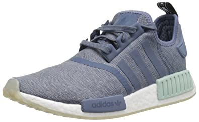 adidas Originals Women's NMD_R1, raw Steel/White, ...