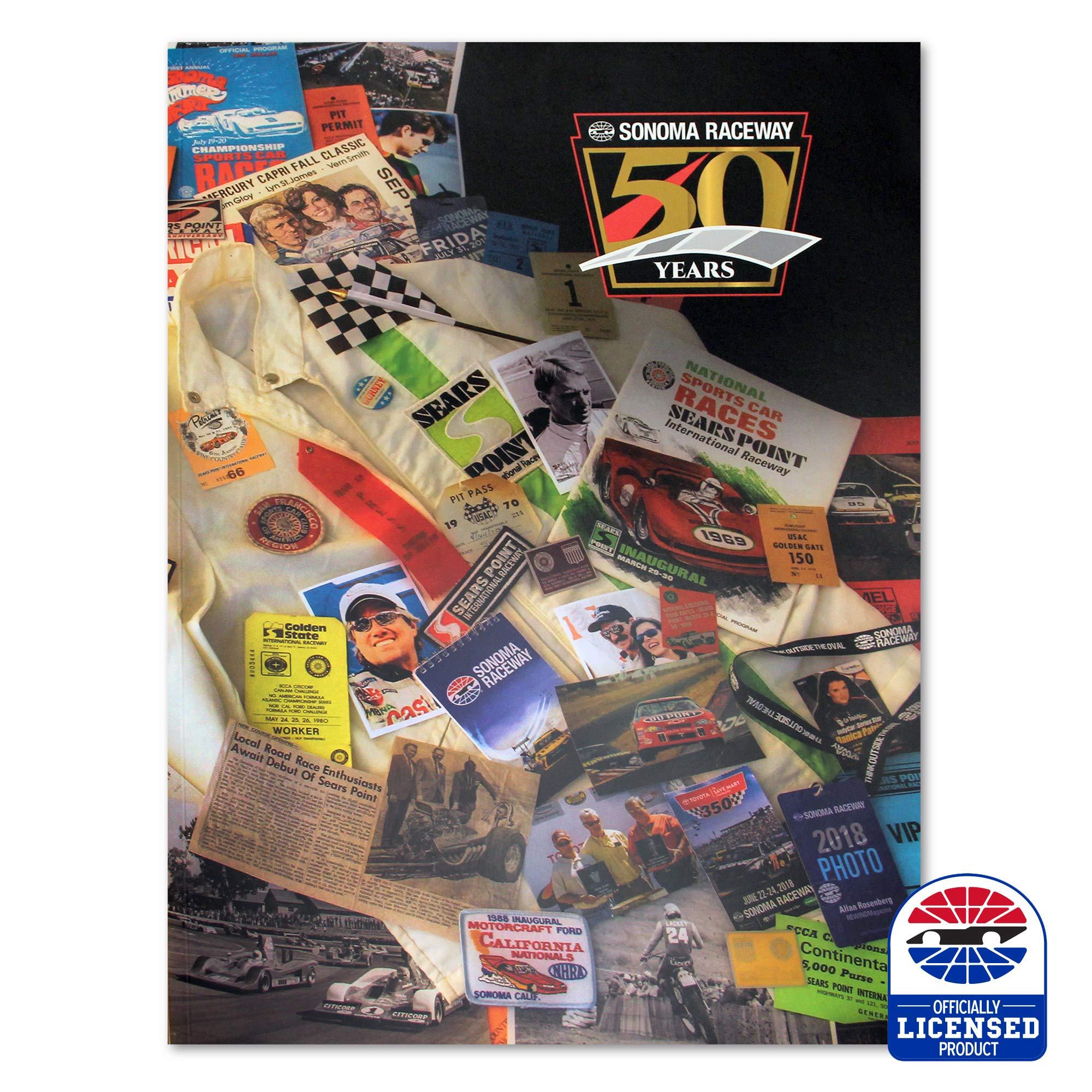 Sonoma Raceway 50th Anniversary Book