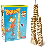 jeujura jouet en bois construction tecap classic baril 300 planchettes - Tecap Color