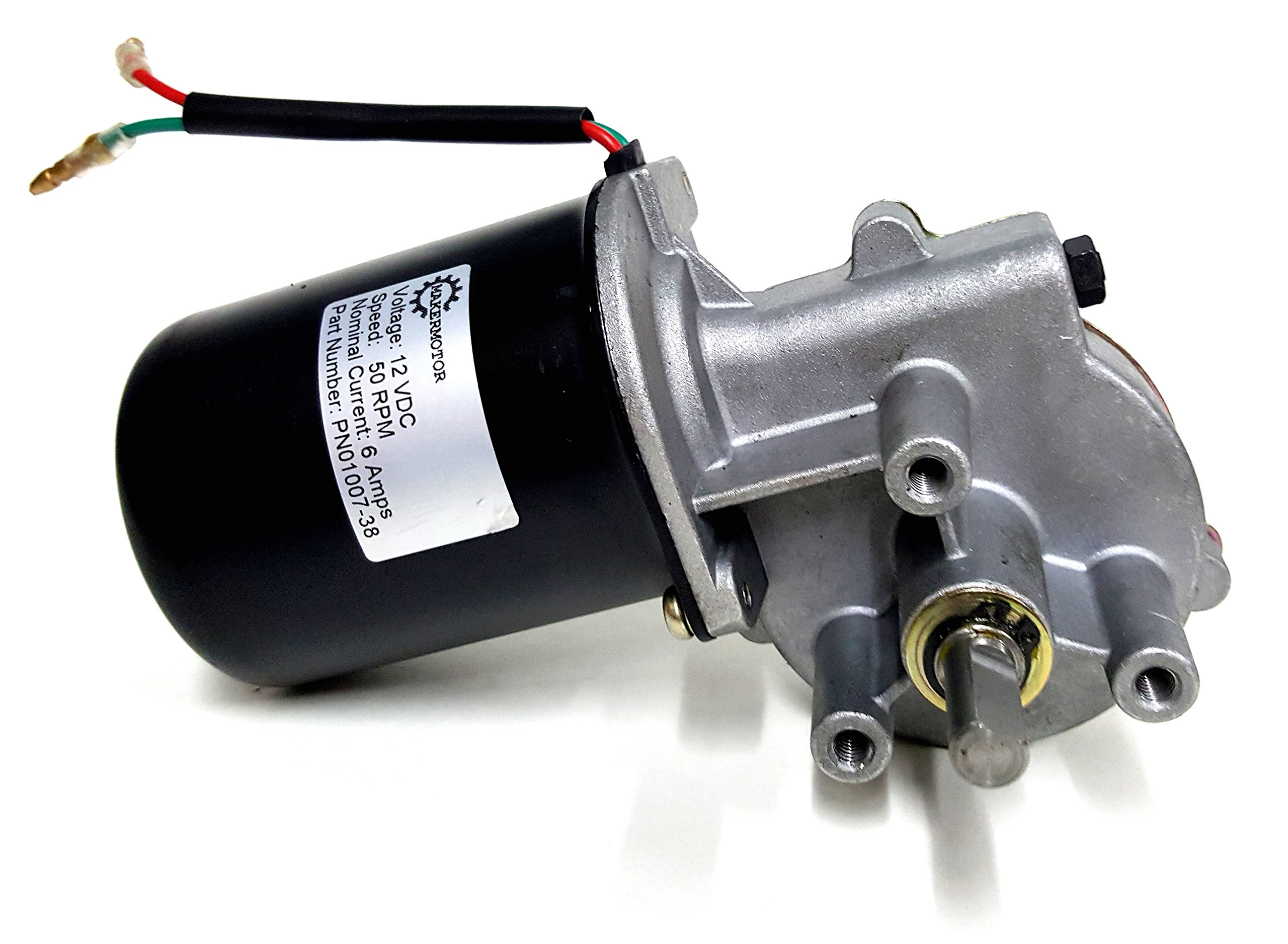 Best Rated In Electric Motors Helpful Customer Reviews Thread 3 Phase 2 Speed Motor Wiring Need Help Makermotor 8 D Shaft 12v Dc Reversible Gear 50 Rpm Product