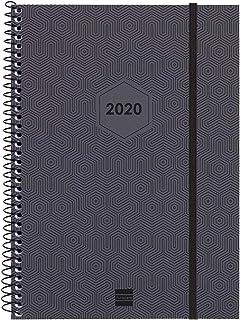 Finocam - Agenda 2020 semana vista vertical Espiral ...