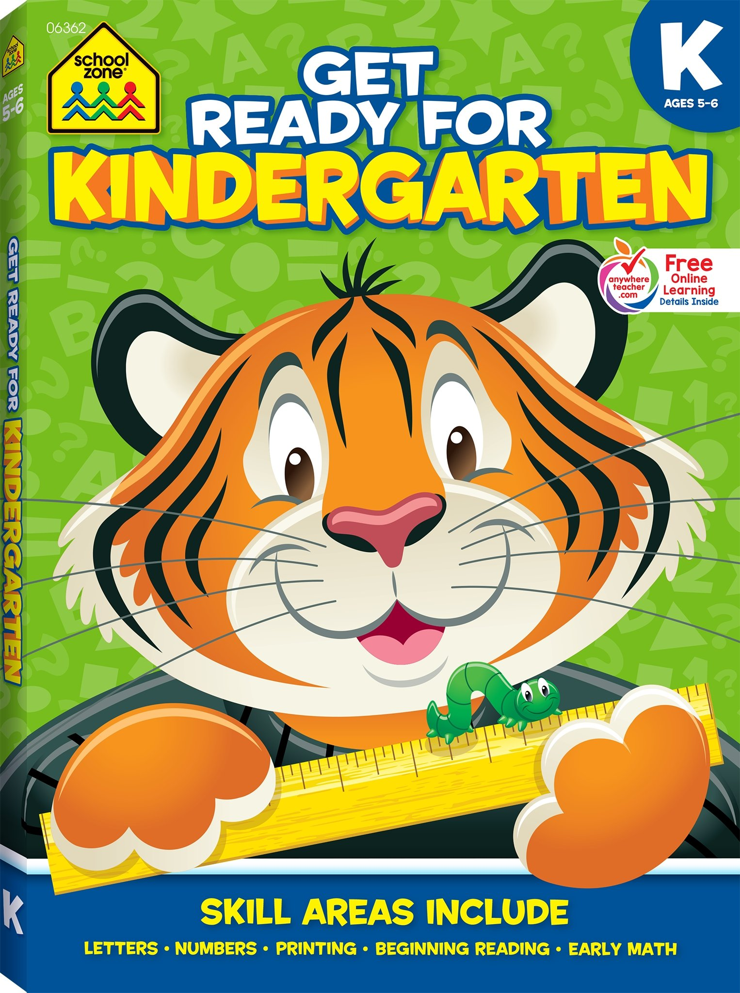 Get Ready Kindergarten Ages Workbook product image