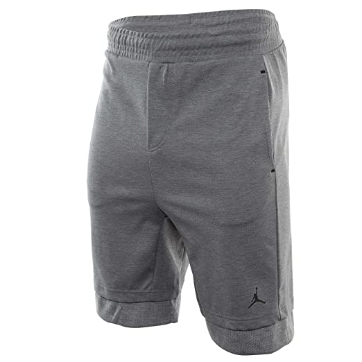 dc6c782d1235 Jordan Air 23 Lux Men s Casual Sportswear Shorts Grey Black 846285-091 (Size