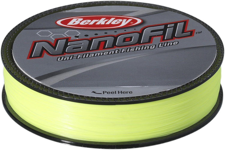 Berkley Nanofil 270m 0.25mm Hi-vis Chartreuse schwarz S
