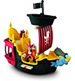 Mattel Jake Il Pirata Fisher Price Y2265 -La Nave dei Pirati Jolly Roger
