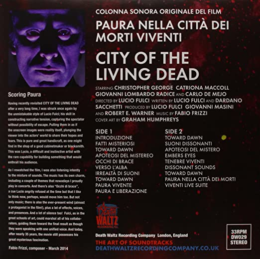 city of living dead mp3