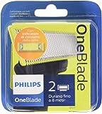 Philips OneBlade Lama di Ricambio - Confezione da 2 Pezzi