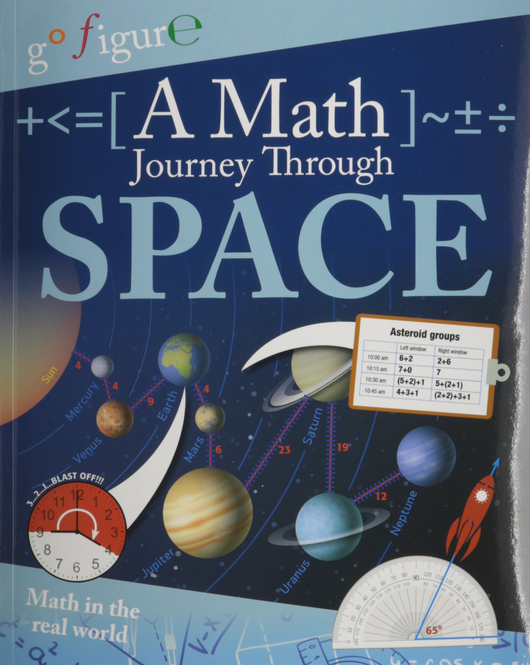 A Math Journey Through Space (Go Figure!): Anne Rooney ...