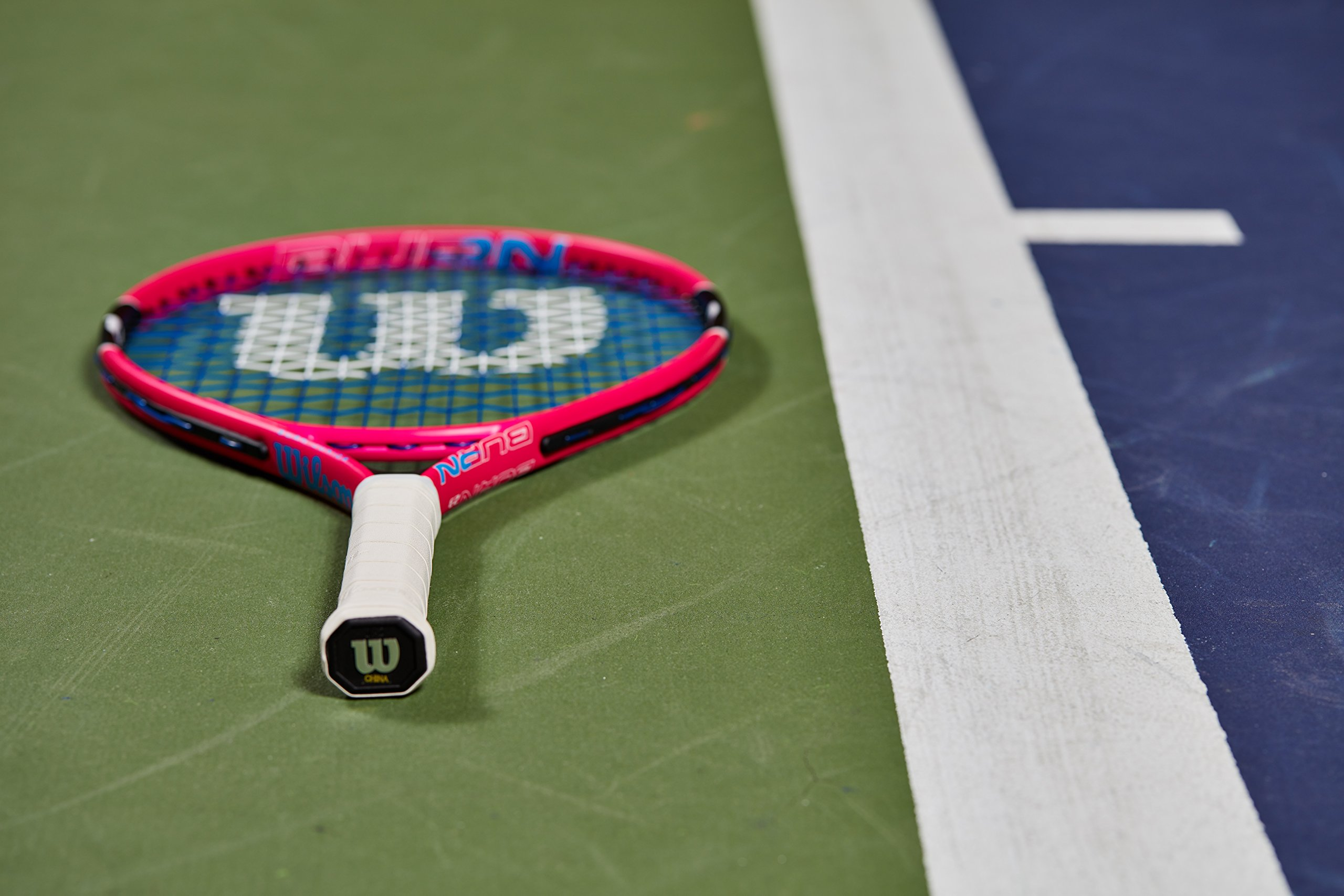 Wilson Junior Burn 19 Tennis Racquet, Pink by Wilson (Image #4)
