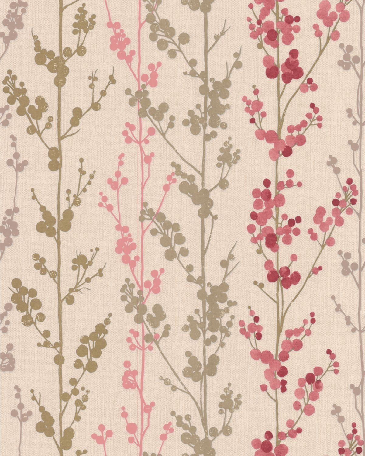 Graham Brown 30 336 Serenity Collection Wallpaper Berries Black