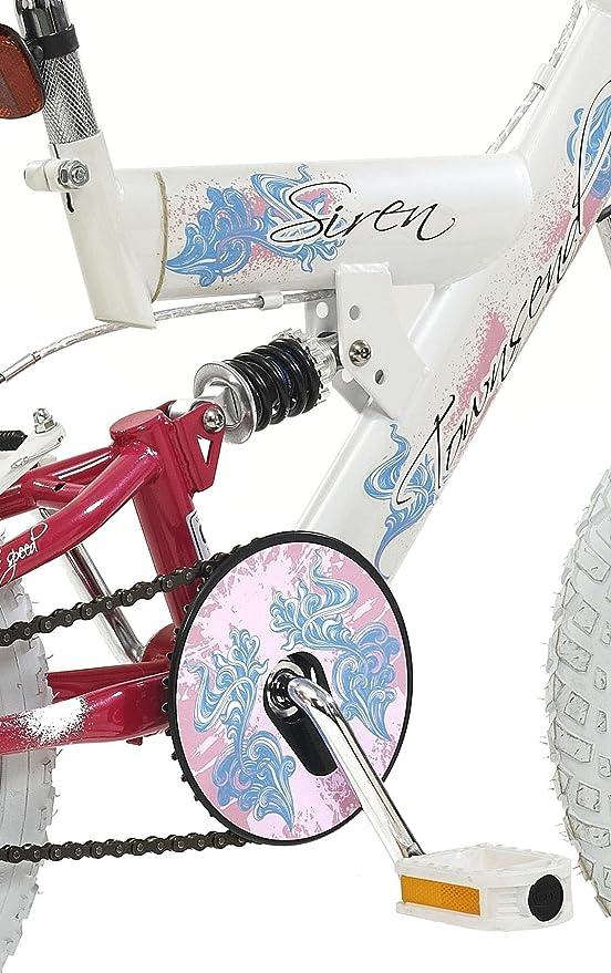 Townsend Kinder Mädchen Fahrrad Siren, weiß, Rahmenhöhe: 12 Zoll ...