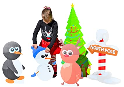 Amazon Com Outdoor Christmas Decorations Holiday Yard Art