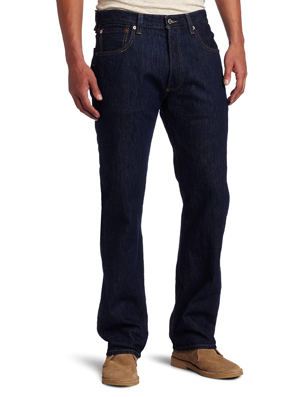 リーバイス501オリジナルフィットジーンズ、ブルー B0018OOTHW waist36 36|リンス リンス waist36 36