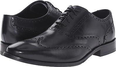 5eb917c1a459 Cole Haan Men s Williams Wingtip Black 14 W US  Amazon.co.uk  Shoes ...