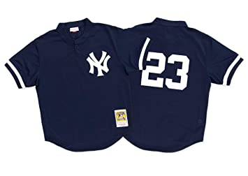 hot sales fe5cd 9e5c1 Mitchell & Ness Don Mattingly 1995 Authentic Mesh BP Jersey New York Yankees