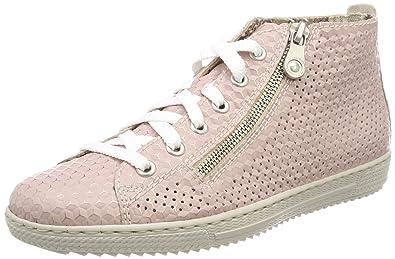 Les Femmes L9432 Rieker Haute Sneaker soaaTFsqT