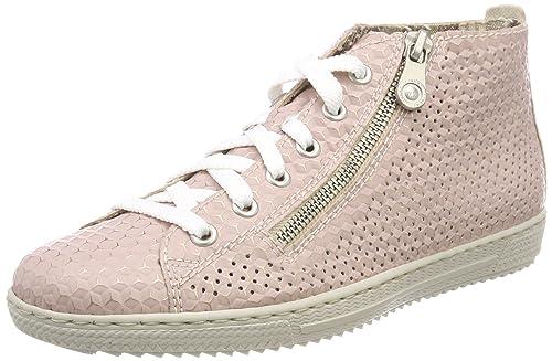 Rieker Borse Amazon Sneaker Scarpe A it E Collo L9447 Alto Donna grvgqY