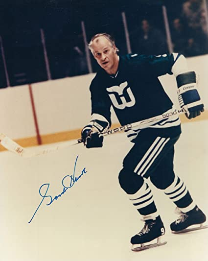 c411ef445a5 Image Unavailable. Image not available for. Color: Autographed Gordie Howe  ...