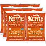 Kettle Brand Potato Chips, Backyard Barbeque, 2 Oz (Pack of 6)
