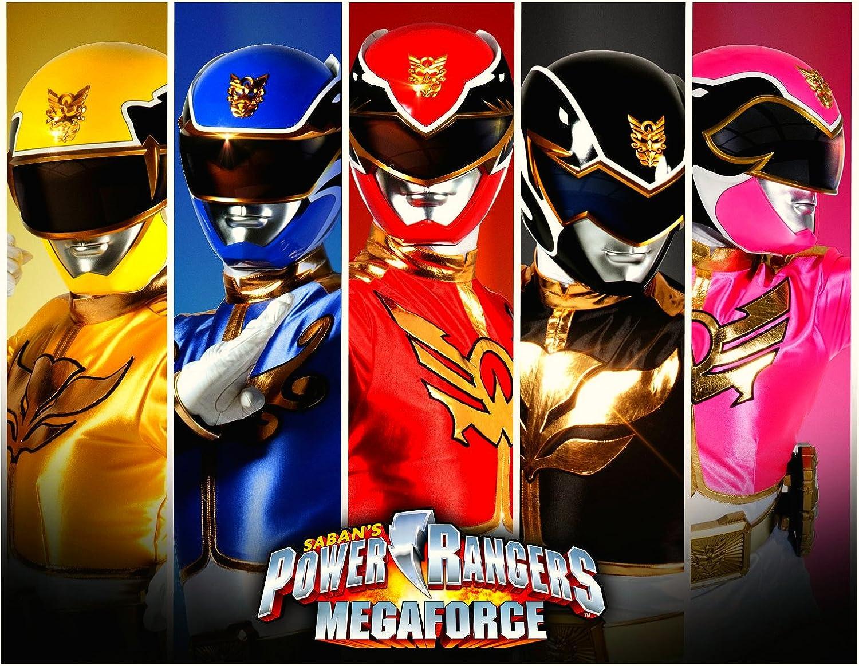 Cool Amazon Com Power Rangers Super Mega Force Image Photo Cake Topper Funny Birthday Cards Online Inifodamsfinfo