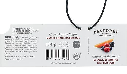 Pastoret Caprichos de Yogur Mango y Frutas Del Bosque, 150g ...