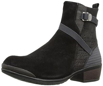 KEEN Women's Morrison Mid Boot, Black/Black, ...
