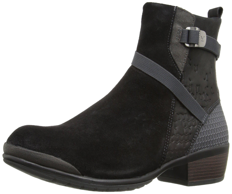 KEEN Women's Morrison Mid Boot, Black/Black, 8.5 M US by KEEN