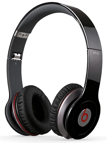 f6e301a07dc Beats by Dr. Dre Solo HD On-Ear Headphones - Black: Amazon.co.uk:  Electronics