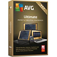 AVG Ultimate 2018 - 1 Year Unlimited Devices (PC/Mac/Android)