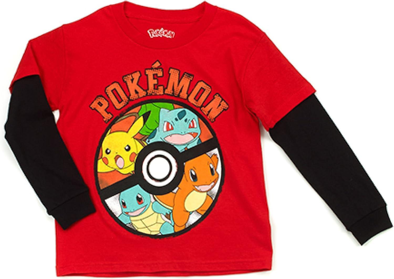 Pokemon Boy Long Sleeve Shirt Size L 7