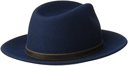 b1b1fb8542d914 Country Gentleman Men's Hamilton Drop Brim Fedora Hat at Amazon Men's  Clothing store: