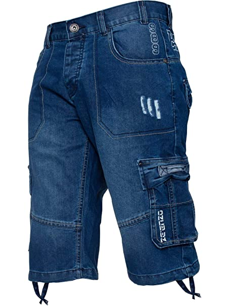 Amazon.com: Enzo Jeans Classic Relaxed Fit Cargo - Pantalón ...