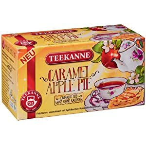 Teekanne | Fruit Tea Caramel Apple Pie | Pack of 1 á 18 bags