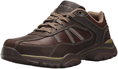 f320c41b0db5b Skechers 65418 Men's Relaxed Fit: Rovato - Texon Oxford, Chocolate - 7 D(